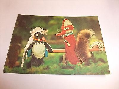 Ordentlich J4 Postkarte Ak Ddr Kinderfernsehn Sandmann Herr Fuchs Und Frau Elster 1982 Bestellungen Sind Willkommen.