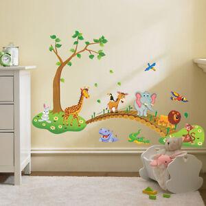 Animals Wall Decal Sticker Home Decor Vinyl Art Kids Baby Nursery