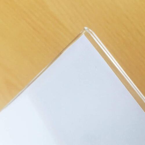 in plexiglass spessore 2mm. Porta-brochure da banco Espositore A4 da tavolo