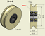 50mm-Nylon-Pulley-Wheel-with-Ball-Bearings-Various-Groove-Size-Precisely-Turned 縮圖 1