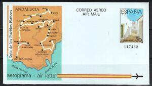 ESPANA-AEROGRAMAS-1988-13-1v
