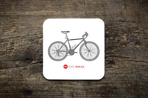 Bike Ninja MTB Retro Classics 1989 Salsa Moto Scoboni Coaster