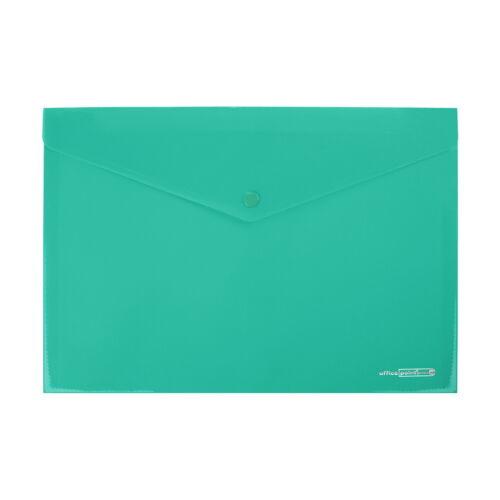 12 Dokumententaschen A4 Aufbewahrungstasche Kunststoff Dokutasche Aktentasche