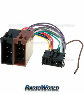 ISO-Wiring-Harness-Connector-Adaptor-For-Pioneer-16-Pin-Car-Stereo-Lead