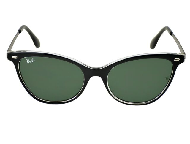 af272f2c69 Ray-Ban RB4360 919 71 Black Transparent Black Frame Green Classic Lenses  Unisex