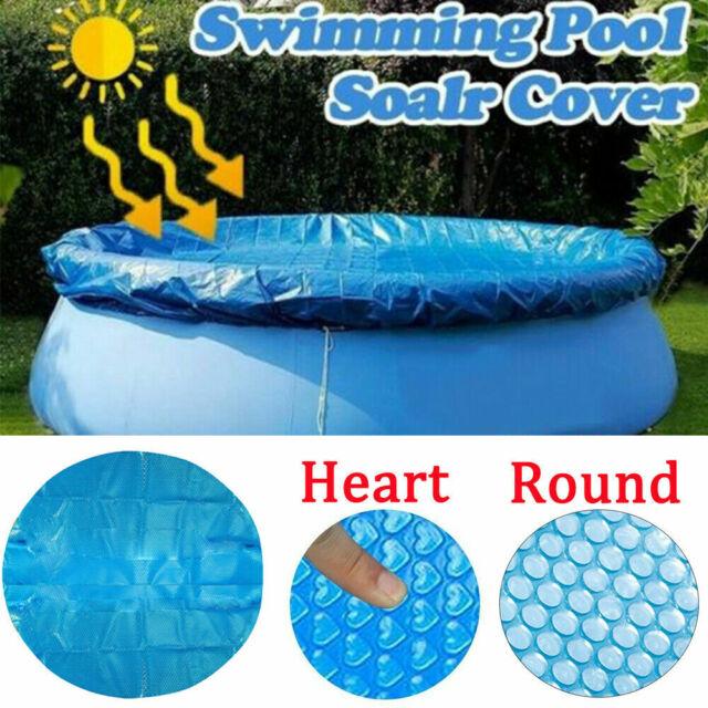 Solar Pool Abdeckung Für Rund Easy Set Über Boden Metall Rahmen Schwimmbad Teile
