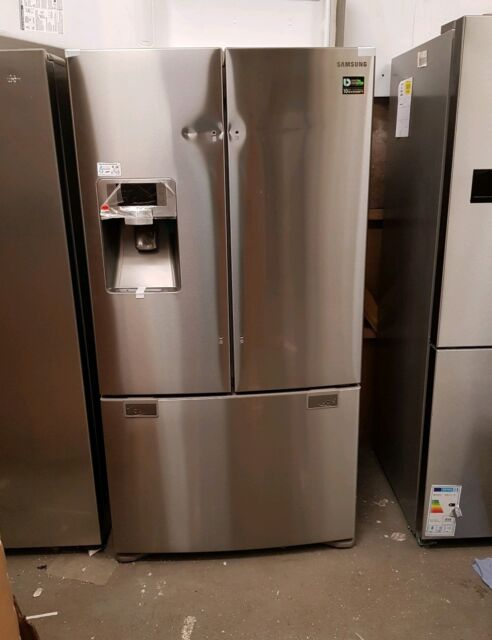 SAMSUNG RFG23UERS American-Style Fridge Freezer - Real Stainless