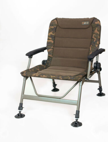Fox r2 Camo chair cbc061 Carpe Chaise carpchair Angel chaise siège anglersitz
