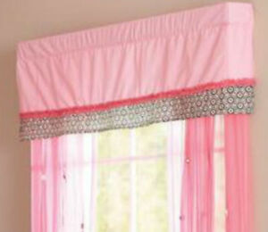 Summer Infant Juliette Window Valance Nursery Decoration Curtain For Baby