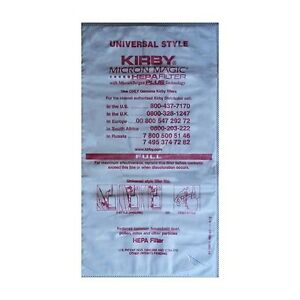 ORIGINALE-Kirby-Filtro-Filtro-Sacchetti-allergene-PLUS-HG-gt-gt-g10-avalir-1007