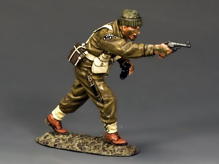 KING AND COUNTRY WW2 British British Commando Shooting Officer D Day DD190