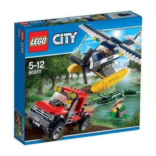 Lego City 60070 Water Plane Chase BNIB