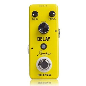 Rowin-Analog-Vintage-Delay-Pedale-Effetto-Chitarra-T6G1