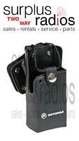 Motorola Hard Leather Swivel Holster Rln4866 Ct150 Ct250
