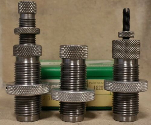 Details about  /RCBS 18206 .357 SWC Mag magnum 3 Die Set RELOADING DIES