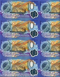 NEW ZEALAND 10 Dollars P190a 2000 Commemorative POLYMER SKI UNC MILLENNIUM NOTE