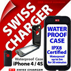 Swiss Charger Waterproof Case Cover for iPhone 4 4s Shockproof Protective