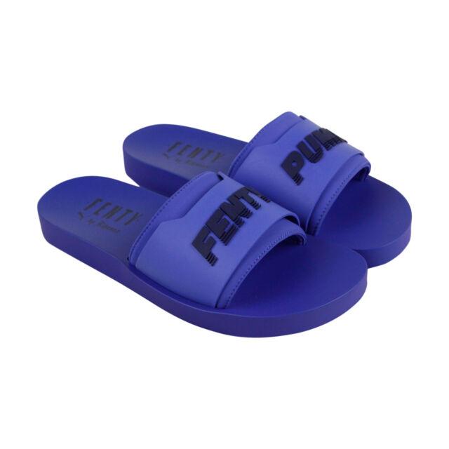 f9a4b34a26838 Womens Size 7.5 Dazzling Blue PUMA Fenty by Rihanna Surf Slide 367747-03