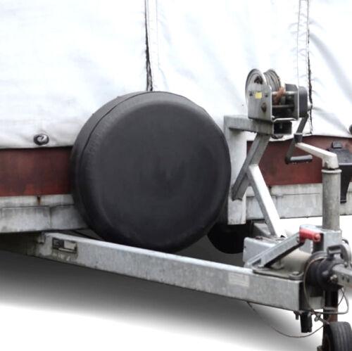 Ersatzradplane negro 195//70r14 61x22cm ersatzradhülle radplane neumáticos Plane