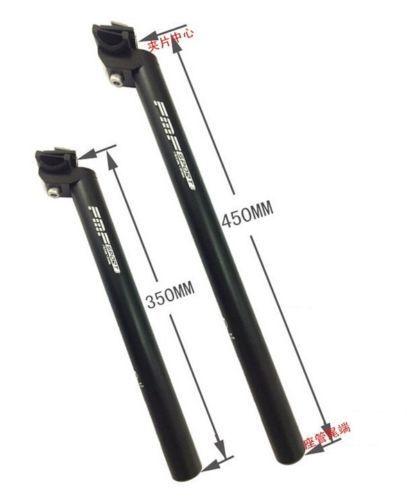 350//450mm MTB Road Mountain Bike Bicycle Seatpost 25.4//27.2//28.6//30.4//30.8//31.6