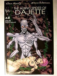 The ALBINO SPIDER Of DAJETTE #0 Verotik//1st Print//1998//NM, 9.4 in Grade