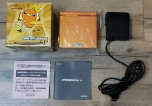 Game Boy Advance SP Pokemon Center Achamo Torchic CIB US Seller