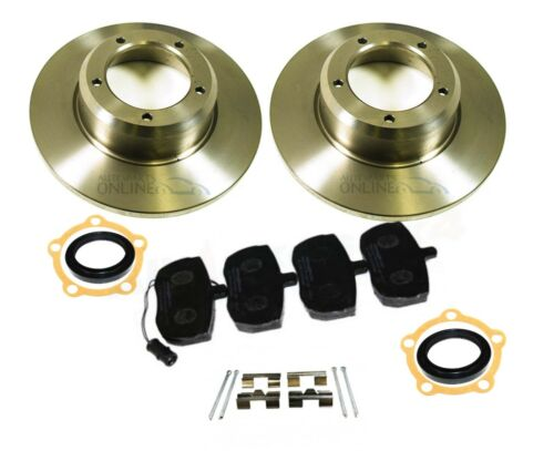 LAND ROVER DISCOVERY 1 200TDI AP104 FRONT BRAKE DISCS /& PADS /& FITTING KIT