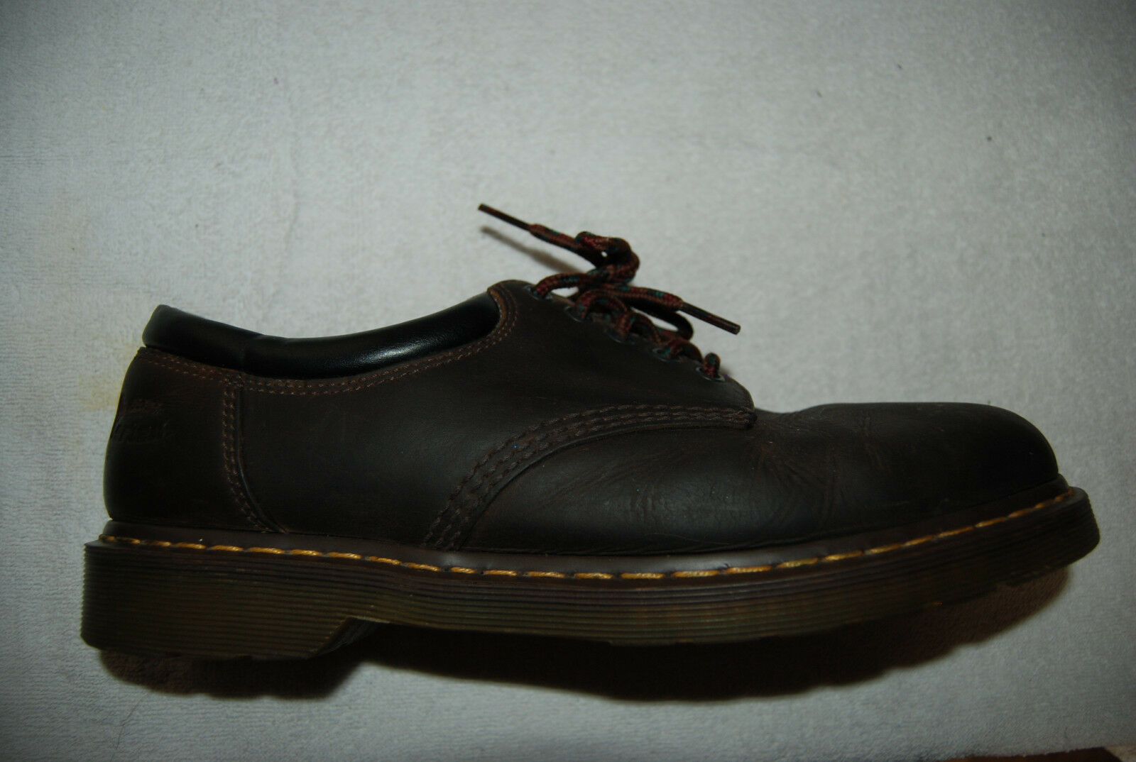 Dark Brown Leather DR MARTENS Air Wair Laced Casual shoes US 12