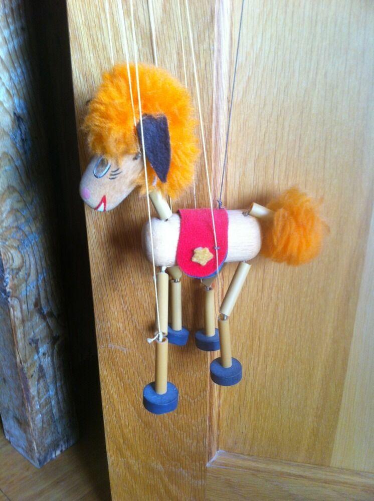 Vintage Pelham Puppet  Pony