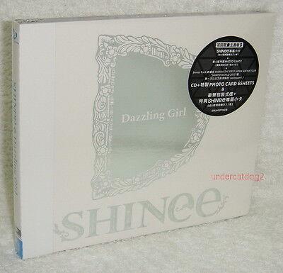 SHINee Dazzling Girl Taiwan Ltd CD+Cards w/Bodyguard live ver[Japanese Language]