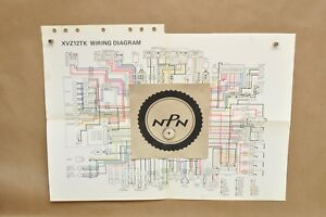 vtg 1983 yamaha venture 1200 xvz12 tk color schematic wire wiring saab wire diagram image is loading vtg 1983 yamaha venture 1200 xvz12 tk color