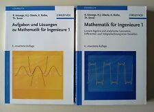Mathematik für Ingenieure 1 + Aufgaben und Lösungen