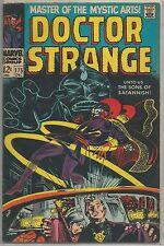 Doctor Strange #175 Marvel 1968 Silver Age Comic FN/FN+ (Vs. Sons of Satannish)