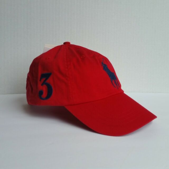 Lauren Hat Polo Big Ralph Dad Pony 3 Cap Mcmlxvii Baseball Red Strapback 54cRj3ALq