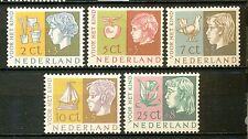 Nederland  612 - 616 ongebruikt (2)