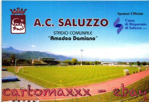 Saluzzo SC087 Non Viaggiata Cuneo Stadio Campo Sportivo