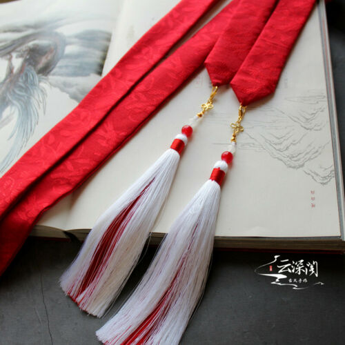 Grandmaster of Demonic Cultivation Lan Wangji Tassel Hair Band Headband COS