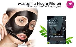 Mascarilla facial de Puntos Negros Exfoliante Acné Black Mask Head 6Gr
