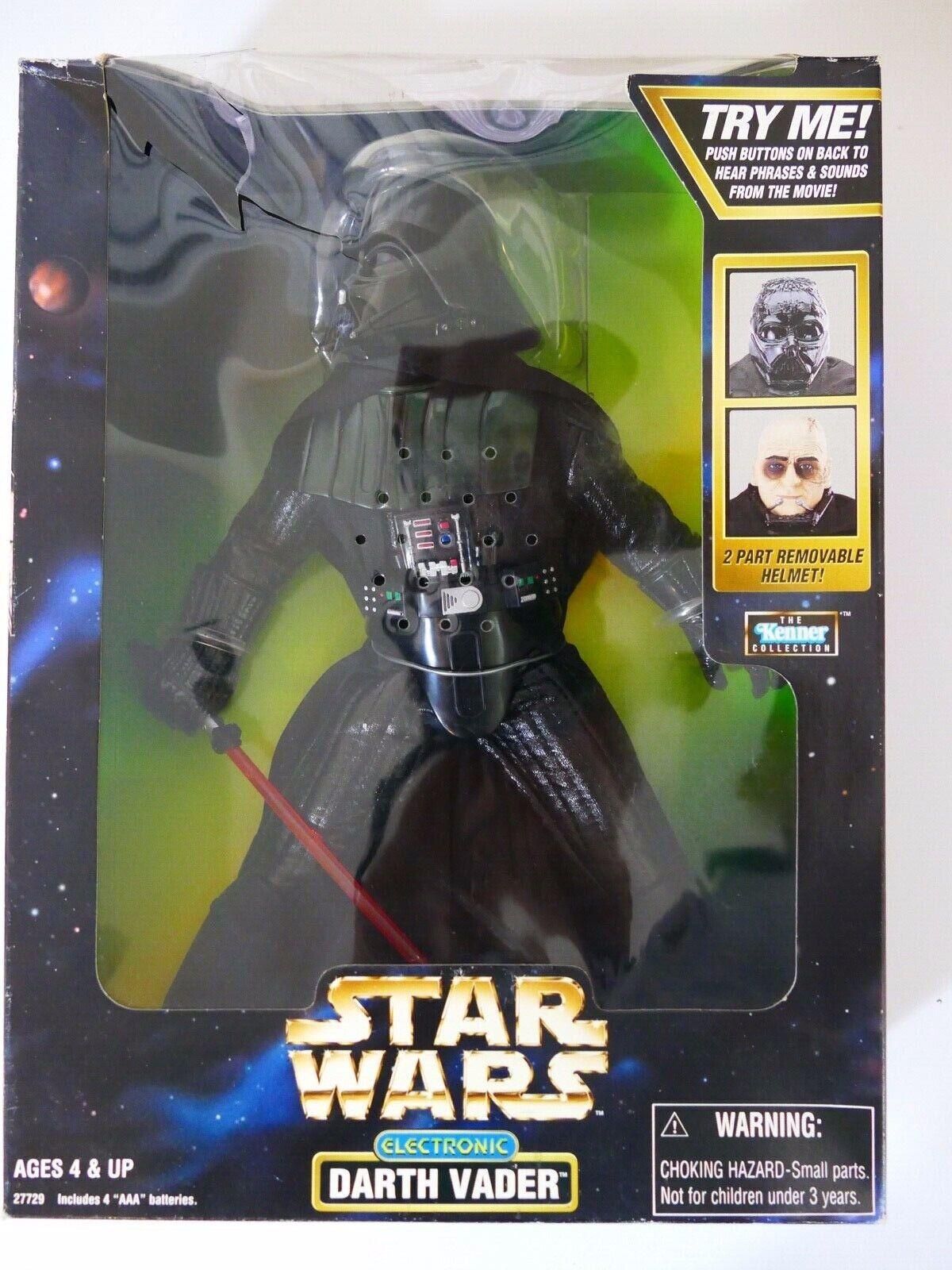 gran venta Estrella Wars 1998 el Kenner Colección Electrónico Darth Vader Vader Vader Nuevo Y En Caja  están haciendo actividades de descuento