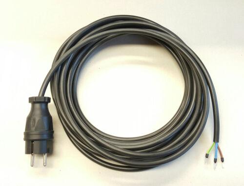 Stromkabel Geräteanschlusskabel Verlängerung PVC H05VV-F 3x1,5  3m schwarz