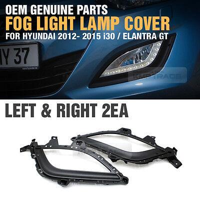 Genuine OEM LED Fog Lights Left /& Right Cover For Hyundai Elantra GT 2013-2016