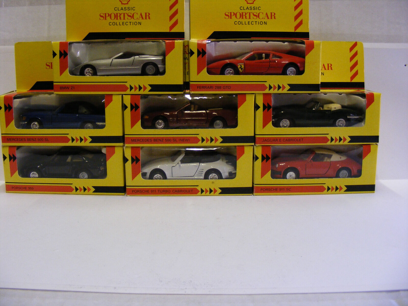 Shell Classic Sportscar collection, 1 38 scale.