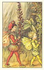 Flower Faires Postcard Cicley Mary Barker The Agrimony Fairies Lot1