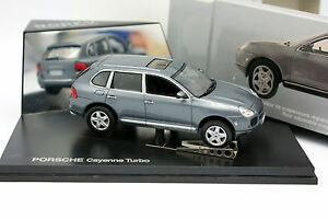 Norev-1-43-Porsche-Cayenne-Turbo-Gris