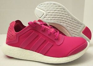 Adidas X Stella McCartney Pure Boost X Plum Green Cream Womens Shoes ... 854d2366b