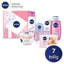 NIVEA Geschenkbox Rosa 7tlg Tagespflege Shampoo Duschgel Handcreme und mehr