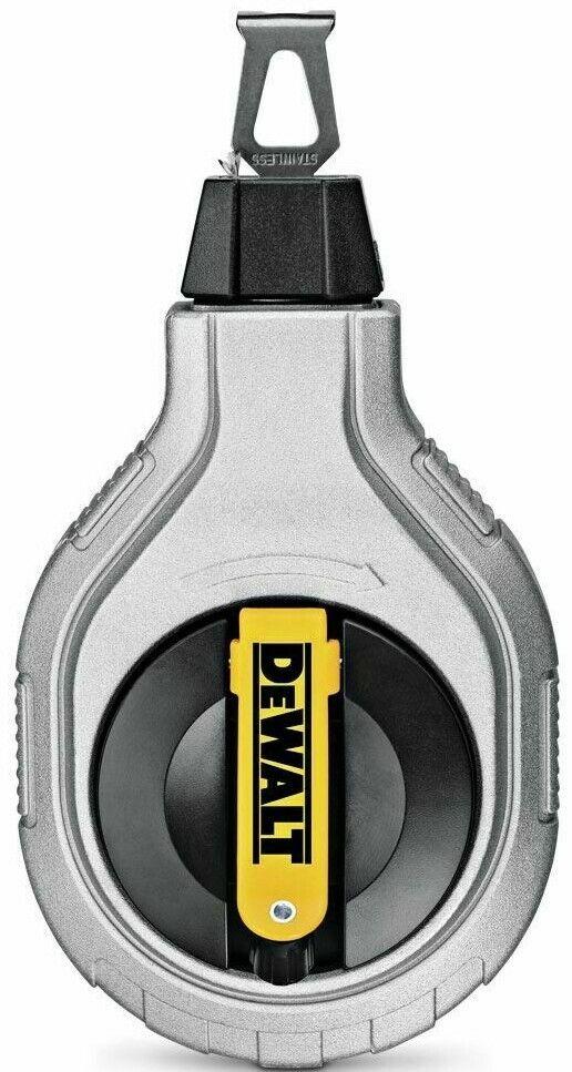 DeWalt METAL CHALK LINE REEL 30m 6 1 Gear Ratio,Integrated Line ClutchUSA Brand