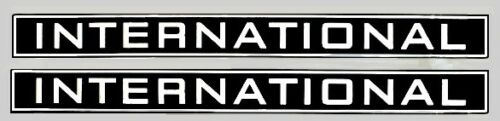 IHC Mc Cormick Traktor Aufkleber international 1046 Emblem Sticker Label Set