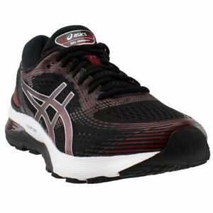 ASICS-Gel-Nimbus-21-Mens-Running-Sneakers-Shoes-Black