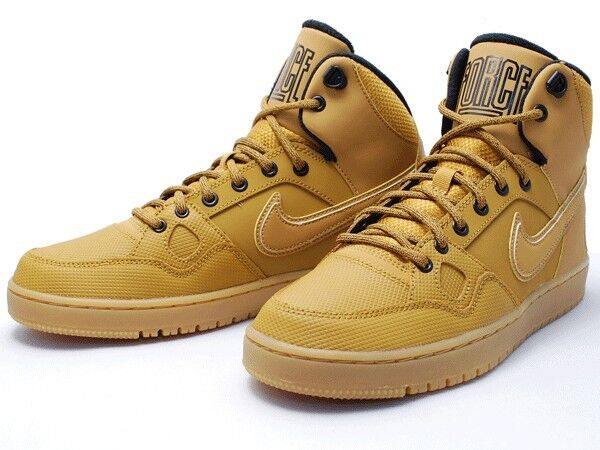 Nike hommes Son of Force Winter Wheat/Brown Trainers 807242 770 Multiple Sizes